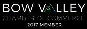 Bow Valley Chamber of Commerce logo - member since 2017